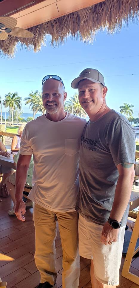 Steve and Keith in Florida